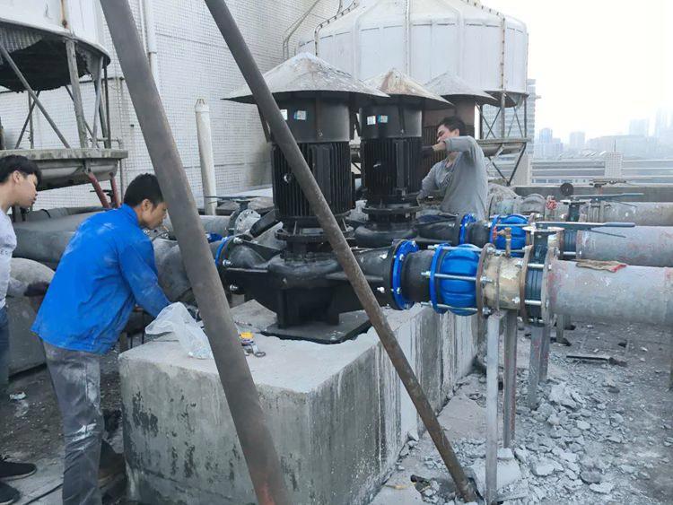 锦州国际酒店冷却泵安排现场