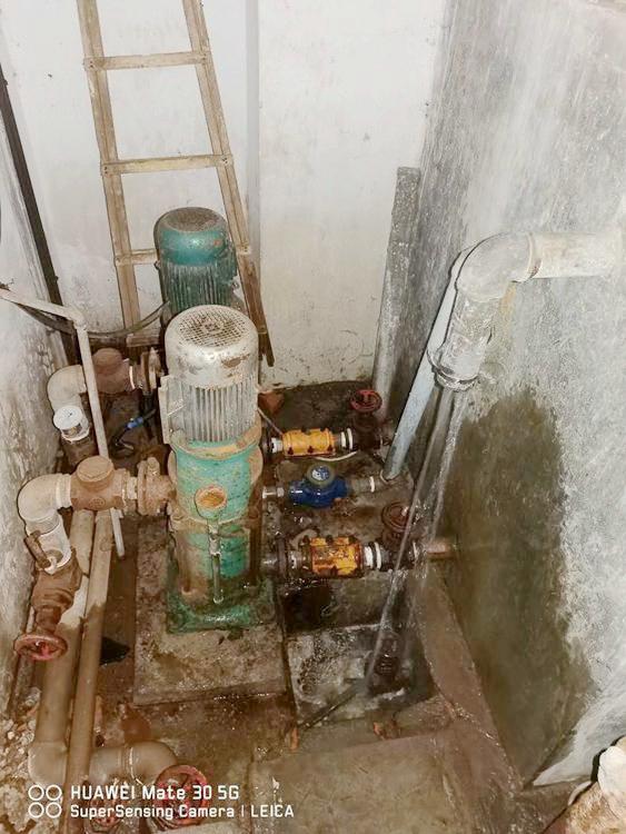 员村小区泵房改造现场