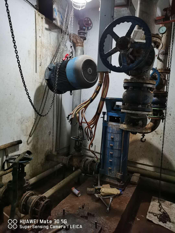 设备漏水就要选择广州水泵维修服务 全因后果太严重!