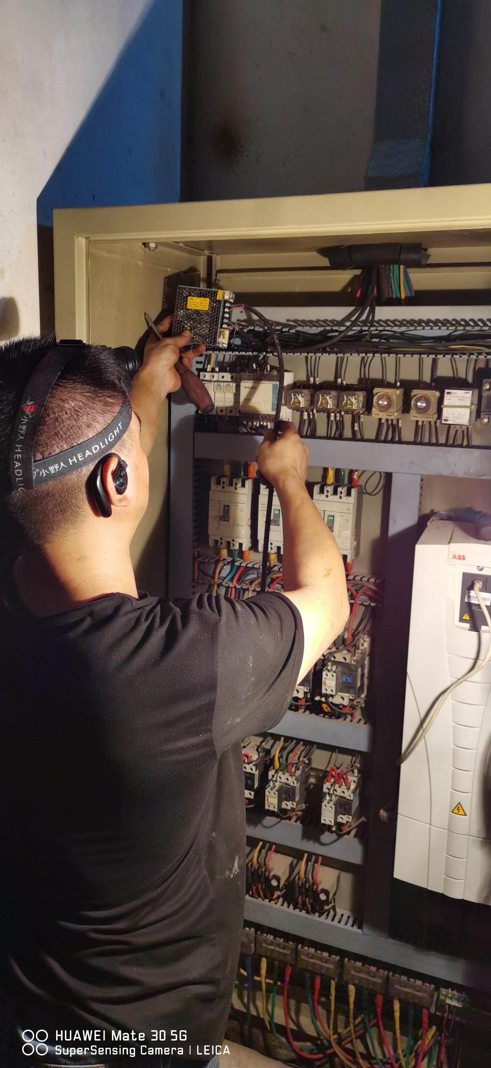 变频恒压控制柜维修